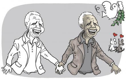 Plantu-Mandela-noir-et-blanc