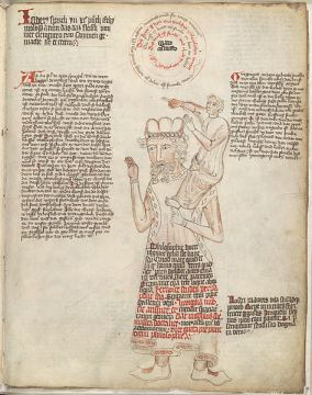 Manuscrit allemand - Vers 1410 - Library of Congress, Rosenwald
