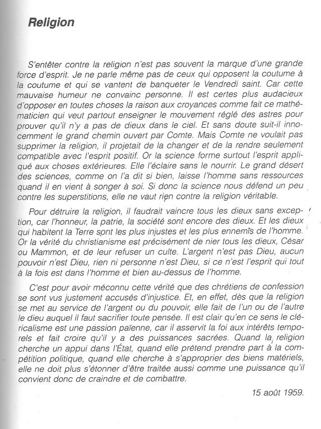 Religion - J. Muglioni