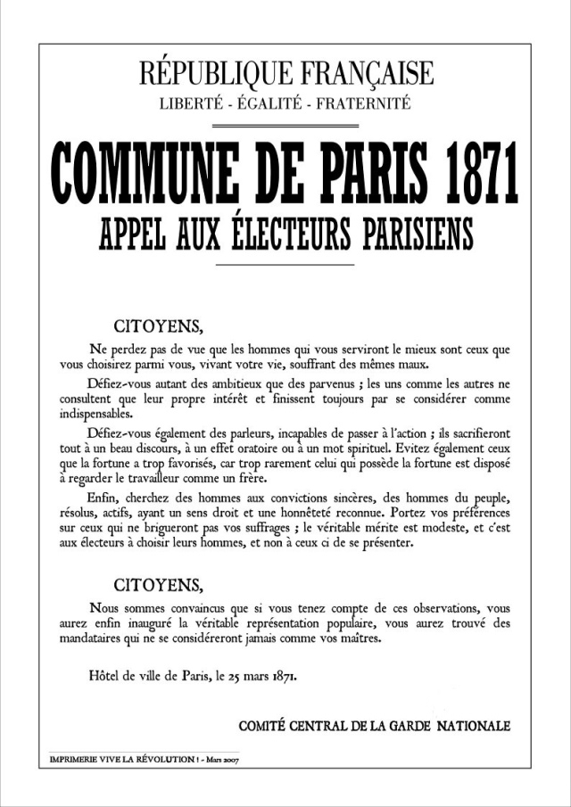 affiche_election_commune_Paris_1871